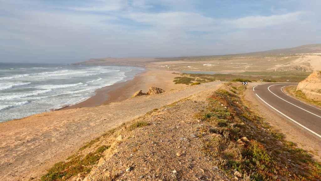 La ciudad de la costa atlántica de Agadir.
