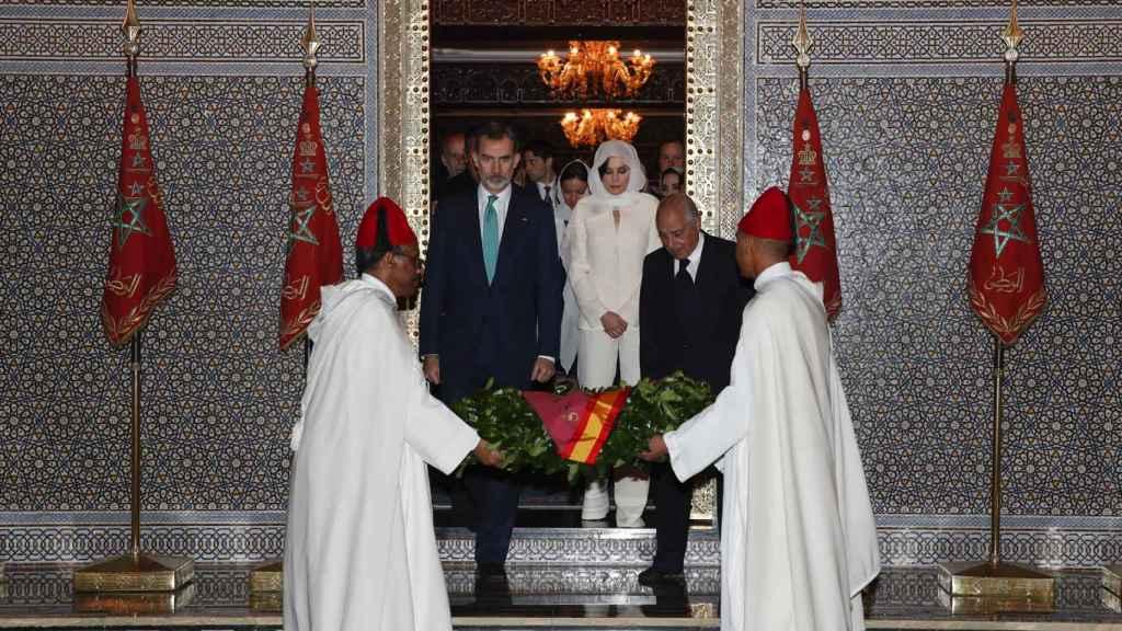 Los reyes en una visita oficial al Marruecos en 2019.