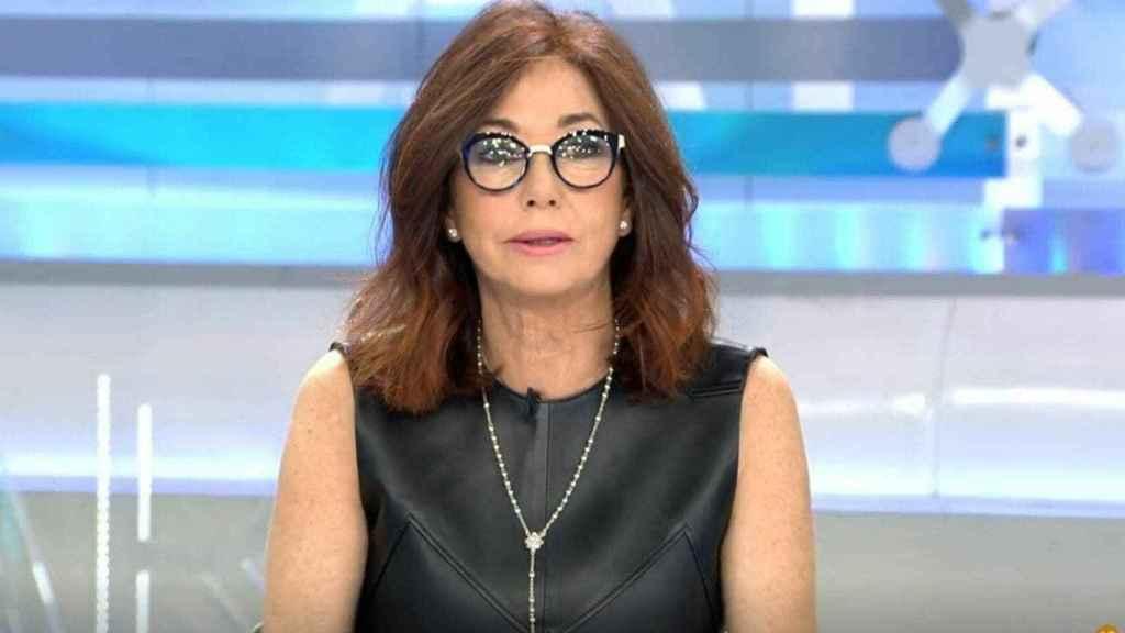 Ana Rosa al frente de su programa.