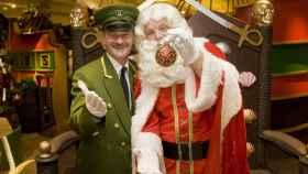 Papá Noel en Harrods (Londres).