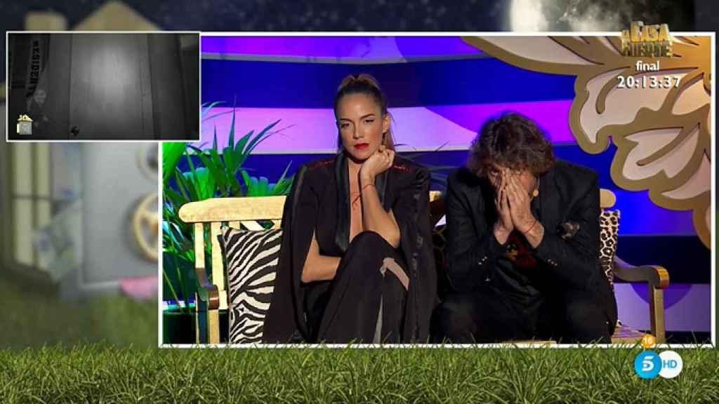 Antonio Pavón y Samira han visto en directo las imágenes de su encuentro sexual.