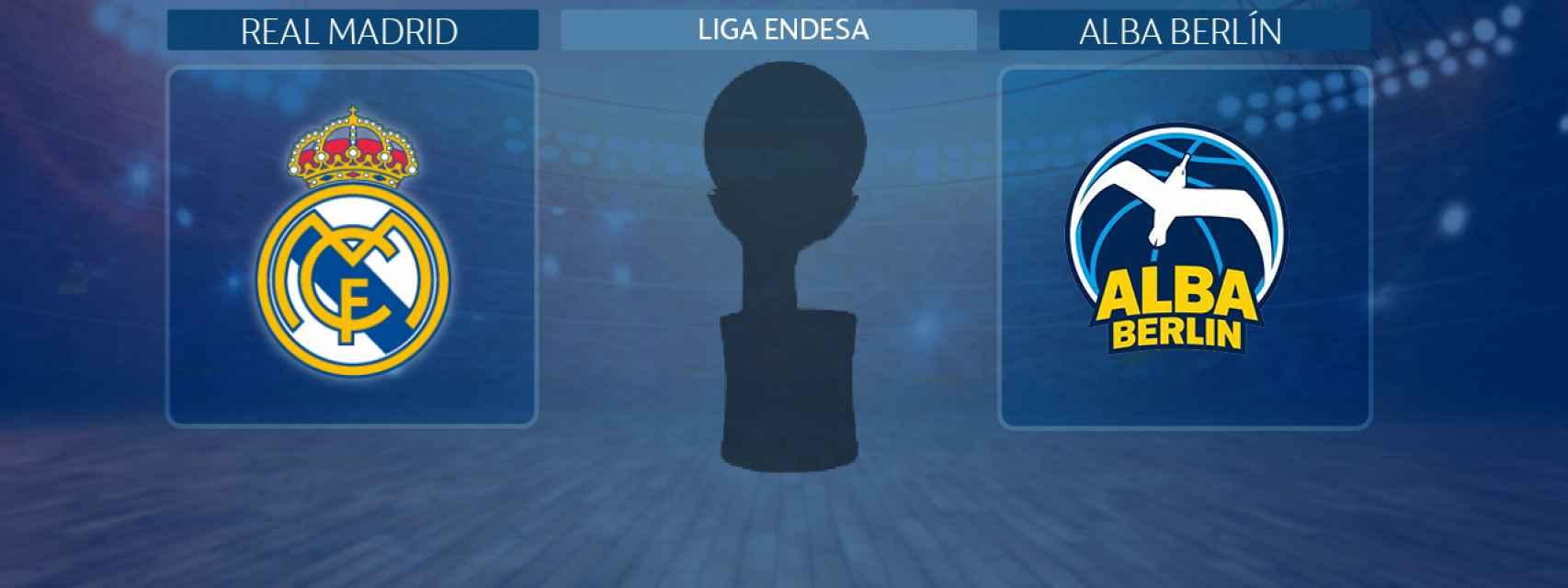 Real Madrid - Alba Berlín, partido de la Liga Endesa