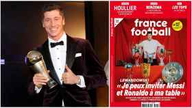 Lewandowski, en France Football
