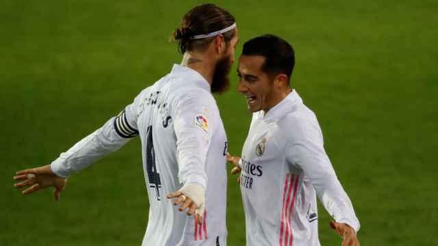 El último entrenamiento del Real Madrid desvela detalles sobre el estado de Sergio Ramos, Carvajal y Lucas