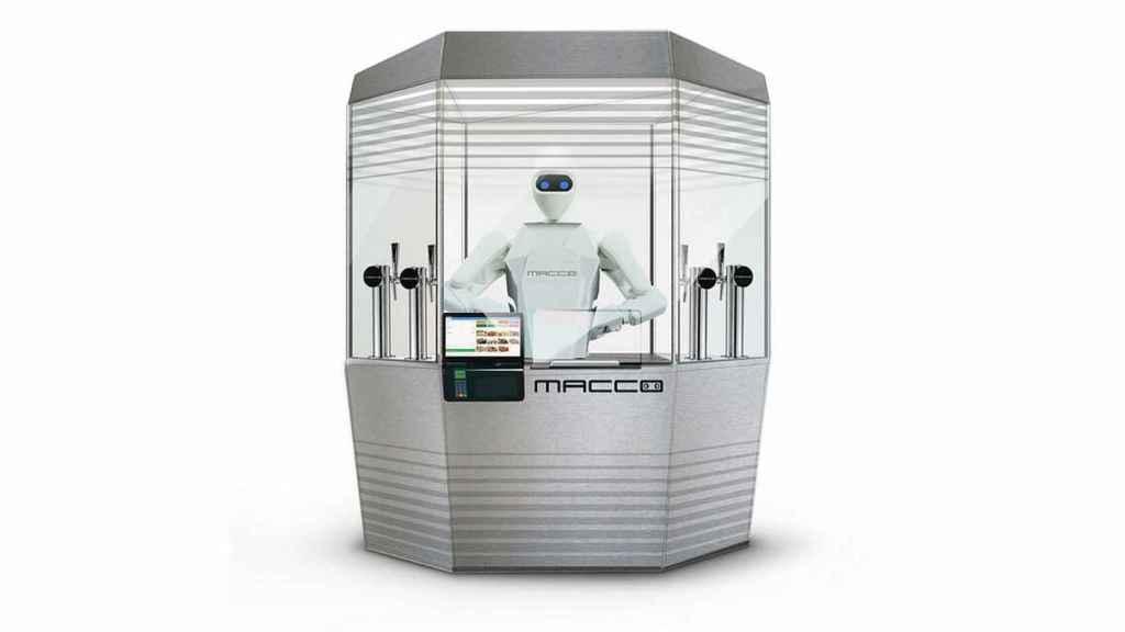 Uno de los robots desarrollados por la española Macco Robotics.