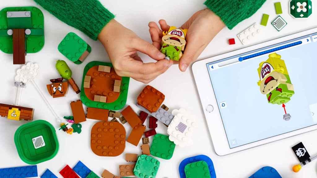 Lego Mario Bros es uno de sus últimos lanzamientos e  incorpora herramientas interactivas.