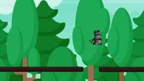 Los videojuegos de plataformas, como este con un mapache saltarín, pueden utilizarse para ayudar a diagnosticar el TDAH.