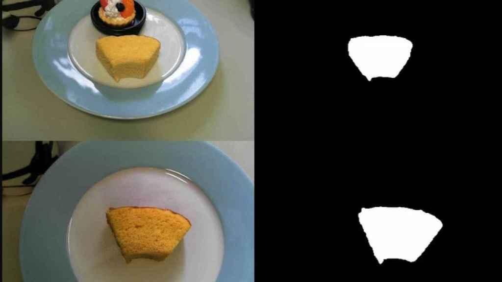 Imágenes utilizadas durante la realización del experimento.
