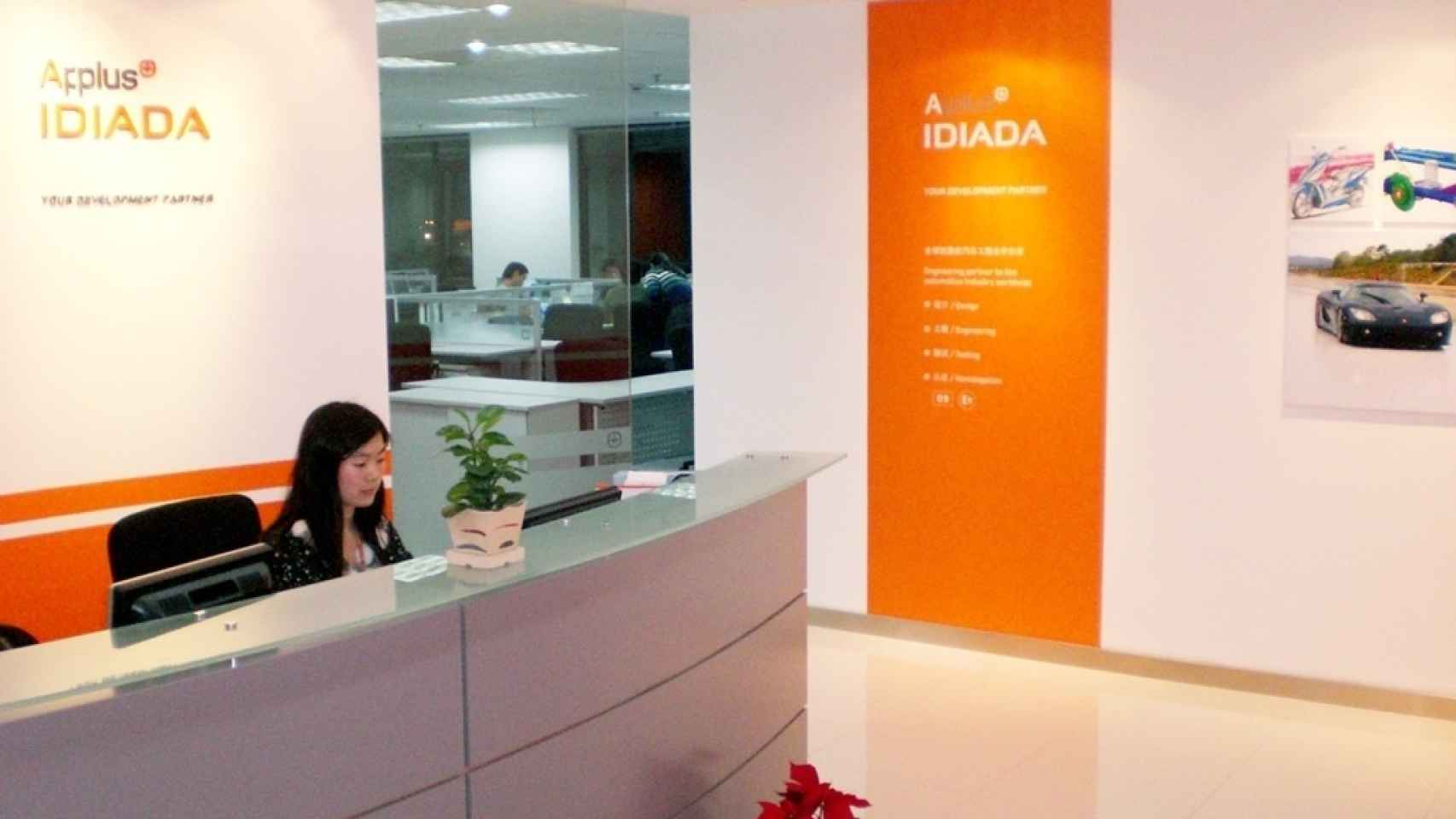 Oficina de Applus+ Idiada en China