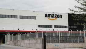 Un centro logístico de Amazon.