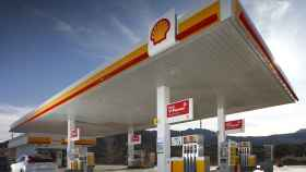 Estación de servicio de Shell.