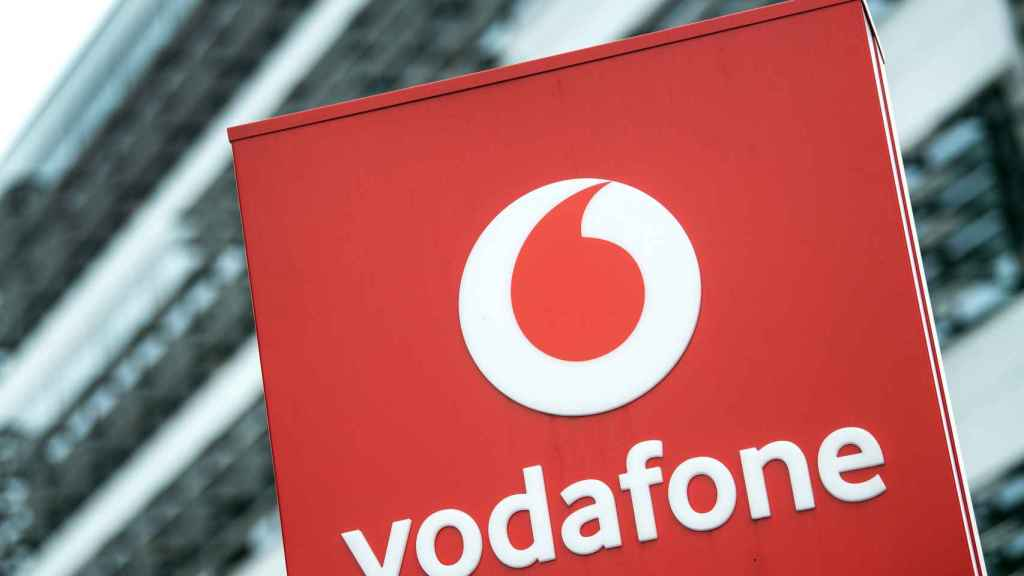 Logo del grupo Vodafone