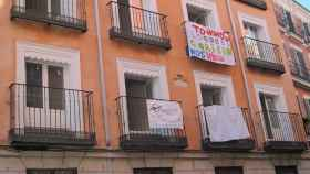 Foto de archivo de una vivienda okupada.