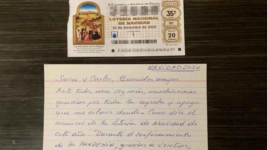 Carta y décimo de Carlos