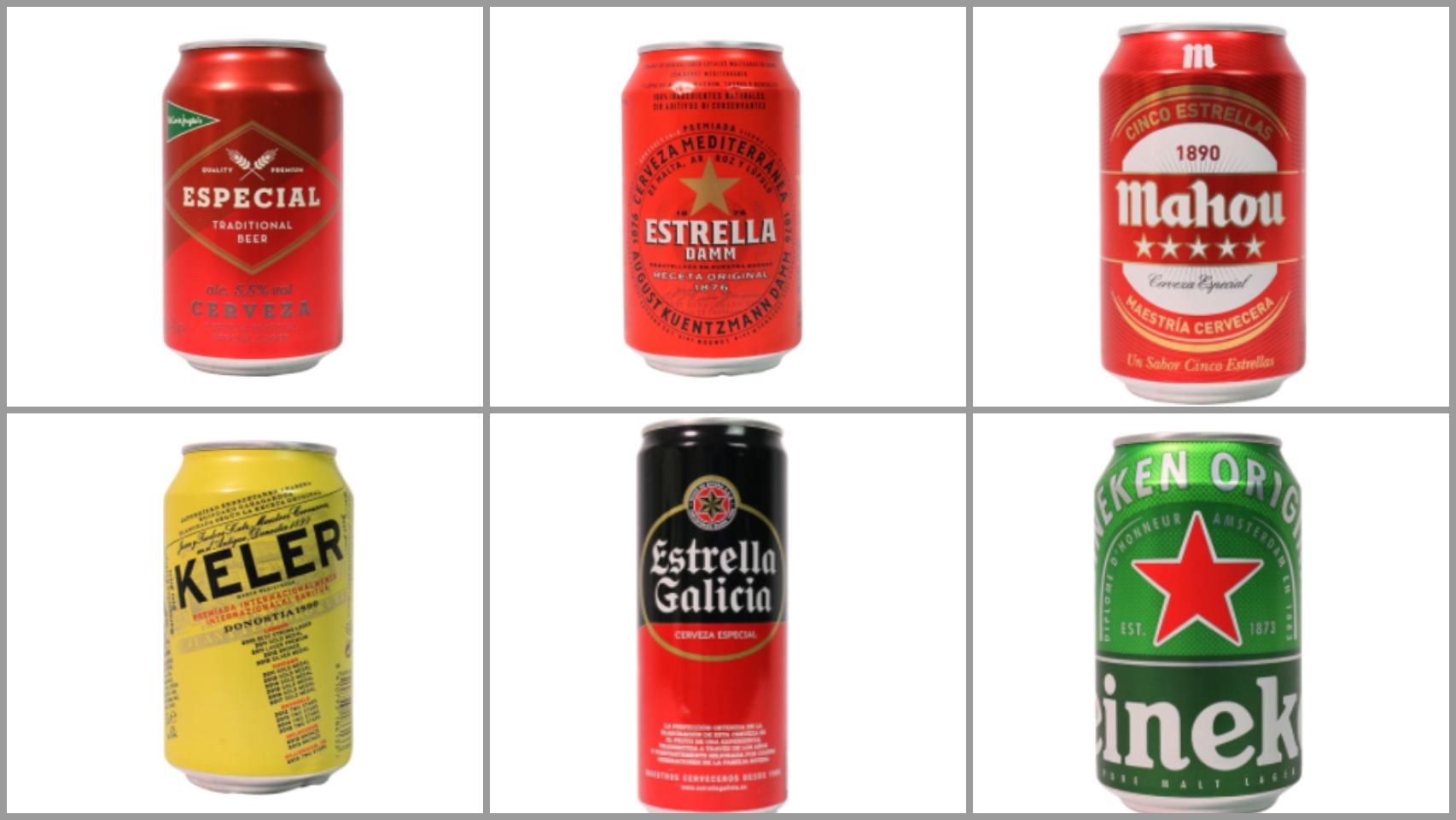 Algunas de las mejores cervezas según la OCU.
