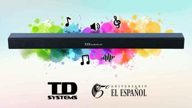 Convierte tu salón en  cine con la barra de sonido de EL ESPAÑOL y TD Systems