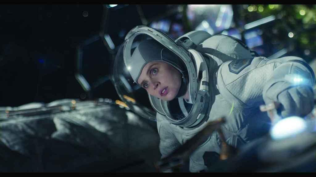 Felicity Jones en 'Cielo de medianoche'.