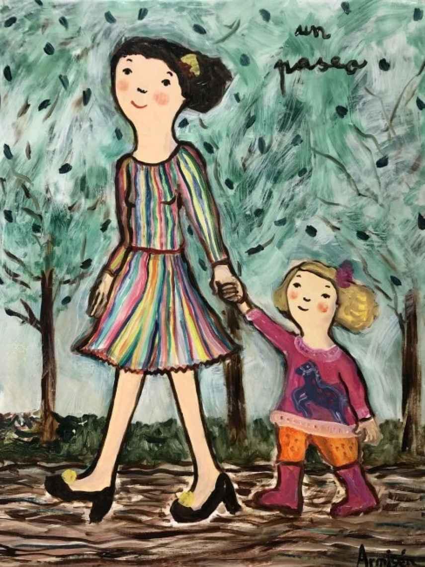 'Un paseo', de Eva Armisén.