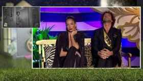 Samira y Antonio Pavón en 'La casa fuerte'