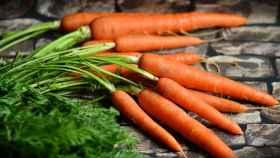 Un puñado de zanahorias.