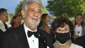 Plácido Domingo y su mujer, Marta Ornelas.
