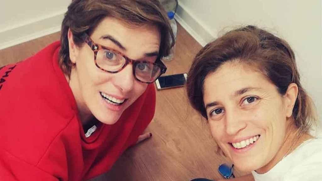 Anabel Alonso y Heidi Steinhardt se casaron en secreto a los dos meses de ser madres.