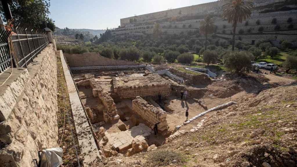 Los nuevos restos arqueológicos hallados en Jerusalén.