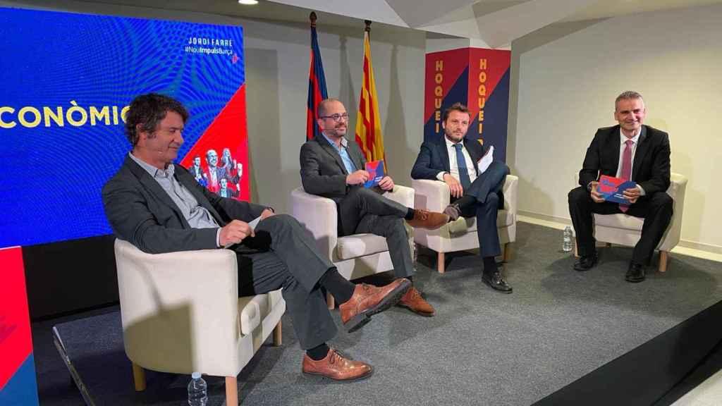 relé emocionante Ejecutable  Jordi Farré apuesta por un Barça 'made in' Cataluña: