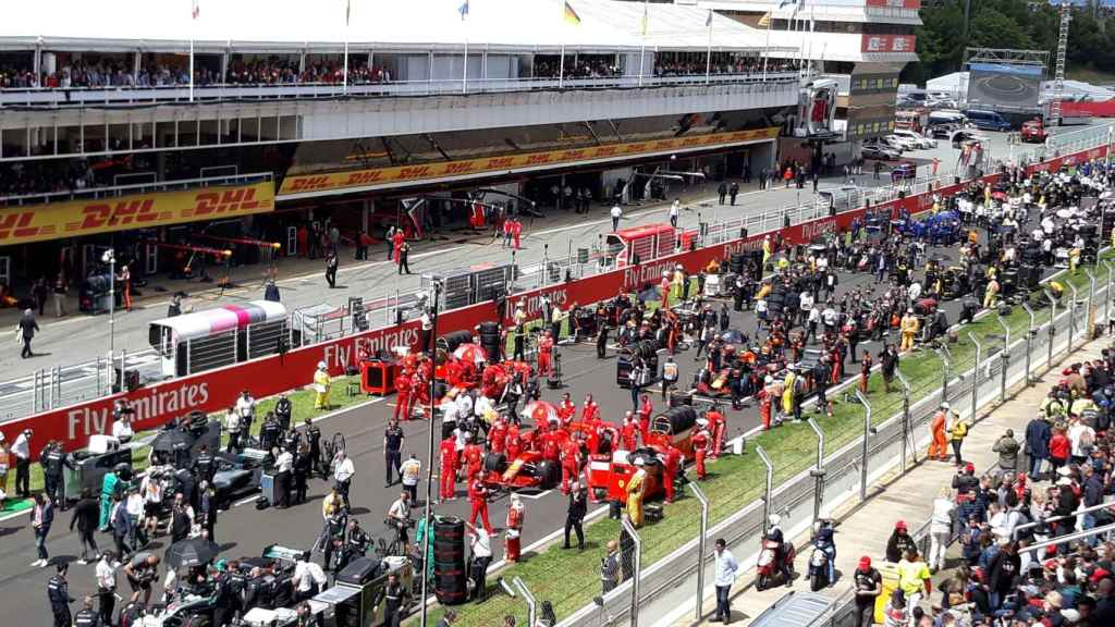 La parrilla de Fórmula 1 de 2019, en el Circuito de Cataluña