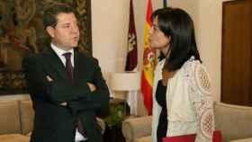 Emiliano García-Page y Pilar Zamora en una imagen de archivo