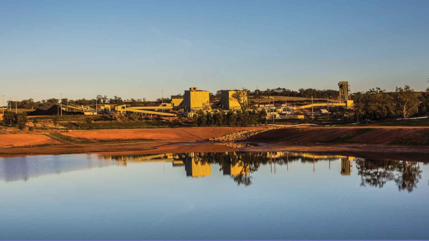 Imagen de la mina Mount Pleasant en Nueva Gales del Sur (Australia).