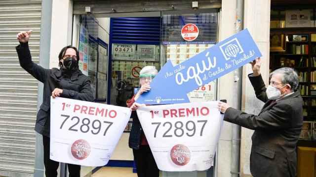 Una administración de Granada ha repartido 180 millones de euros de El Gordo. Efe
