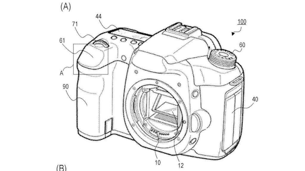 La patente de cámara sin disparador de Canon