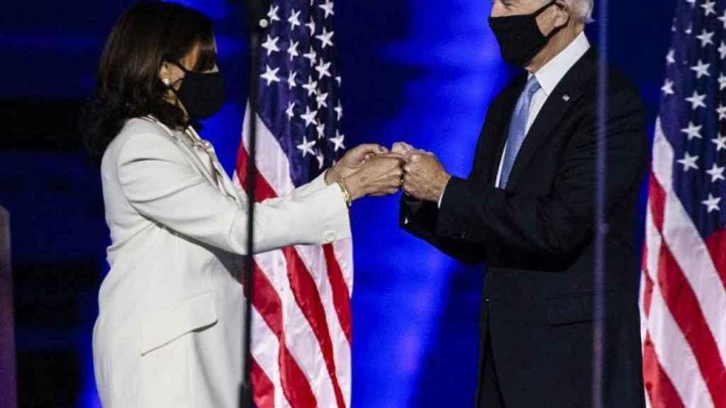 Kamala Harris y Joe Biden.