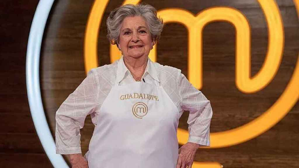 Guadalupe Fiñana 'abuela de dragones' en 'MasterChef Abuelos'.