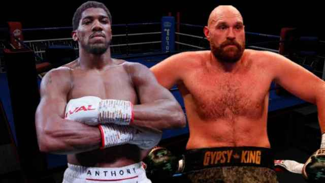 Anthony Joshua y Tyson Fury