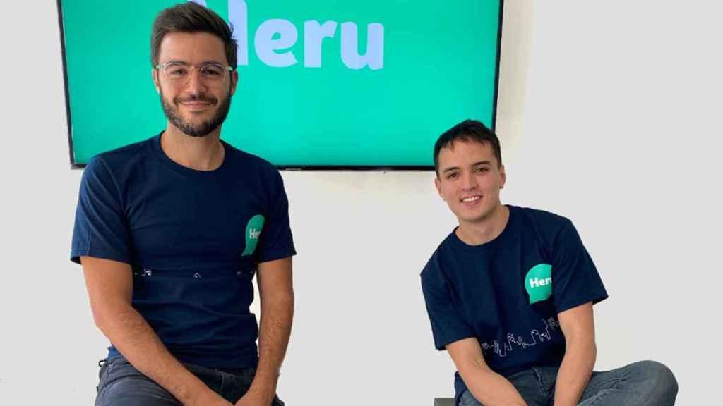 Stiven Rodríguez y Mateo Jaramillo, los fundadores de Heru.