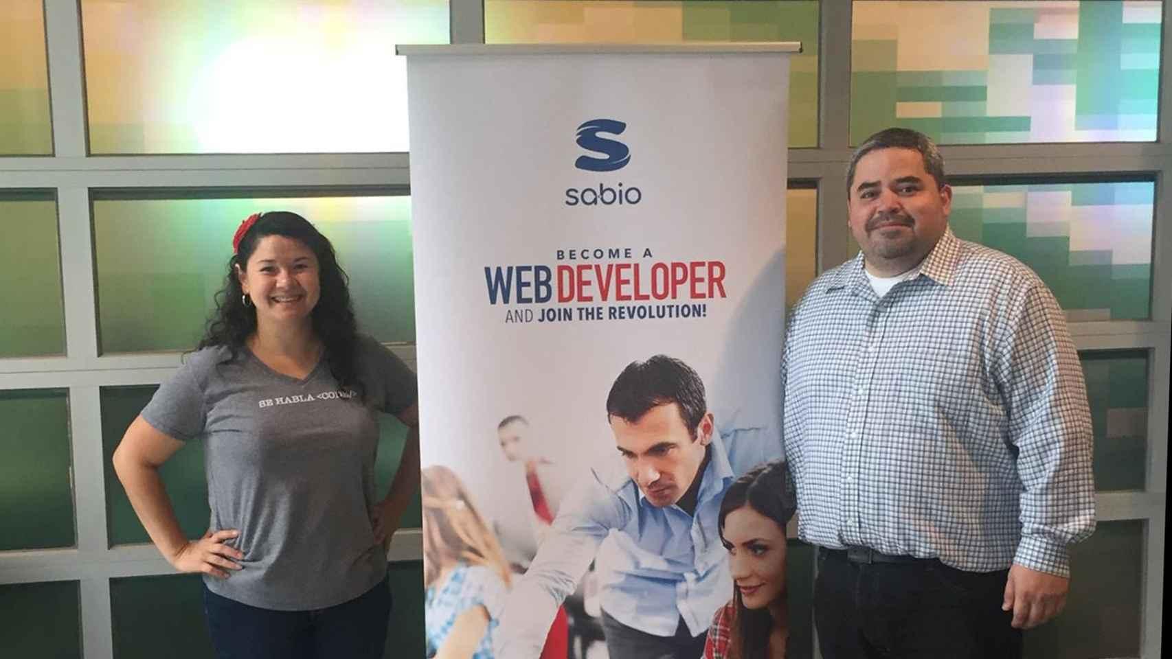 Liliana Monge y Gregorio Rojas crearon Sabio en 2013 en Los Ángeles.