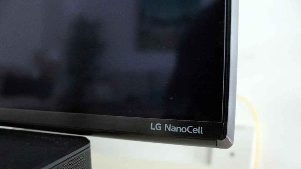El LG 75NANO916NA tiene unos marcos y biseles finos.