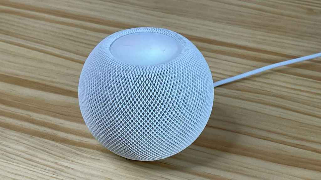 El HomePod mini es el último altavoz inteligente de Apple.