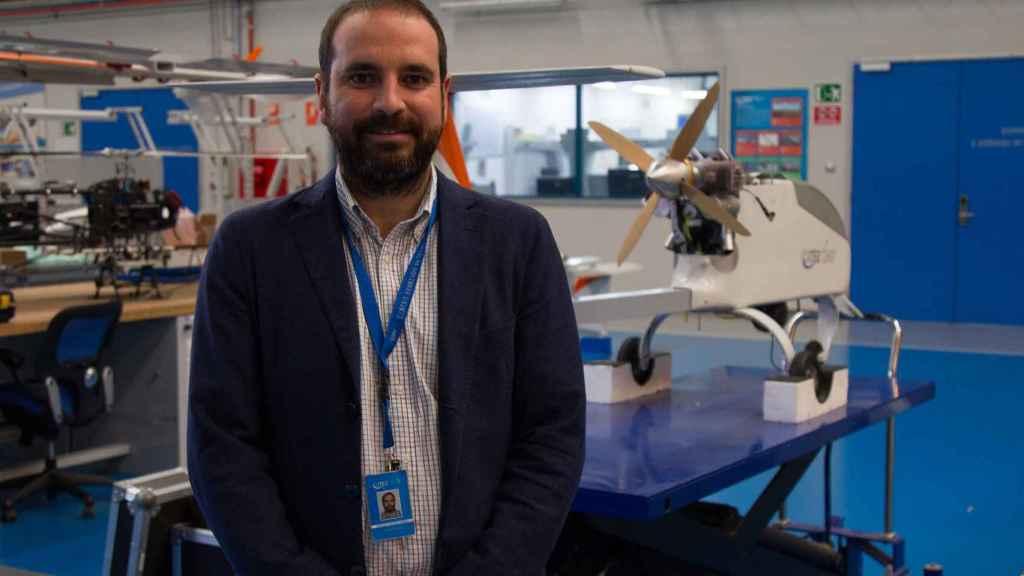 El director técnico de Aviónica y Sistema de Catec, Antidio Viguria.