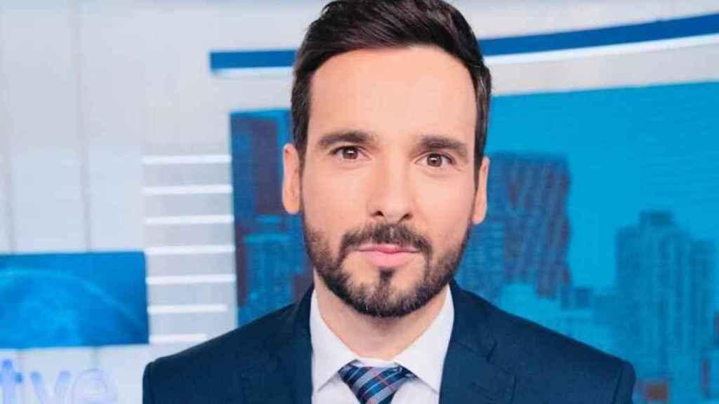 Lluís Guilera comenzó en TVE presentando boletines en el Canal 24 horas.
