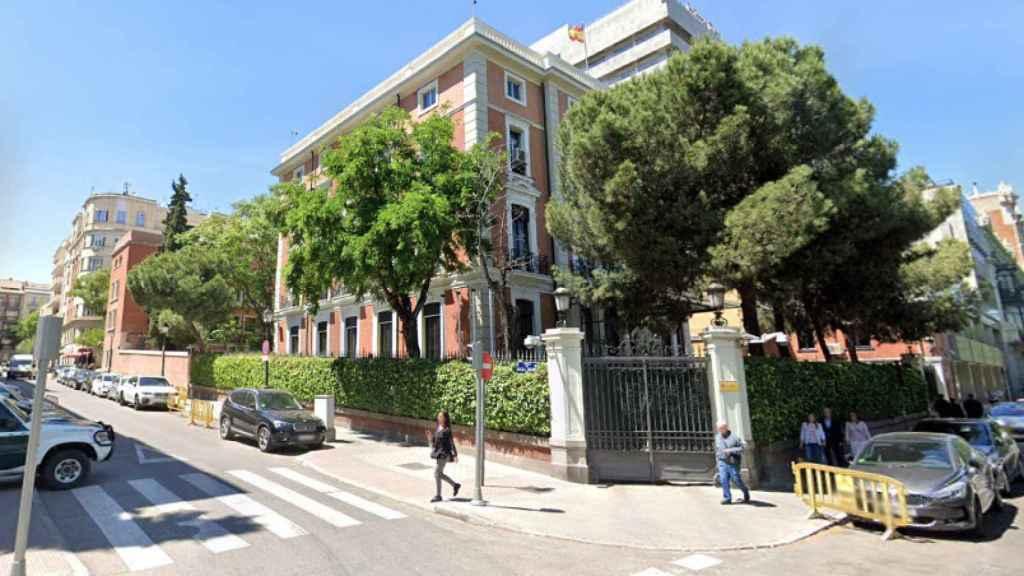 Sede del Ministerio del Interior, donde vive Fernando Grande-Marlaska