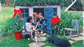 Archie se convierte en el protagonista de la postal navideña de los duques de Sussex