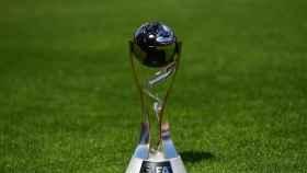 El trofeo del Mundial sub20. Foto: www.fifa.com