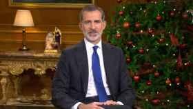 Felipe VI, en el mensaje de Navidad de 2020.