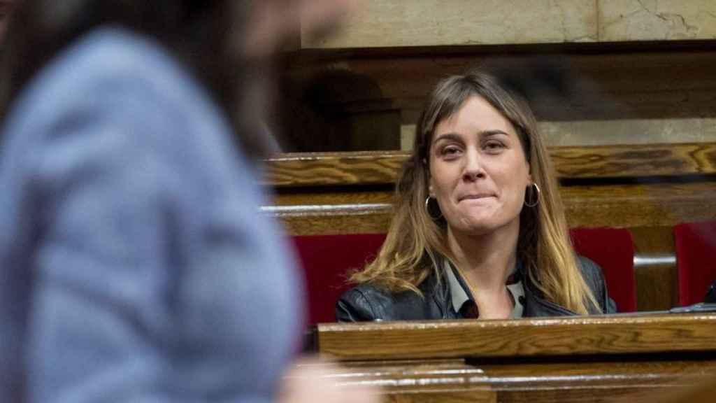 La candidata de En Comú Podem a la presidencia de la Generalitat, Jéssica Albiach. Efe