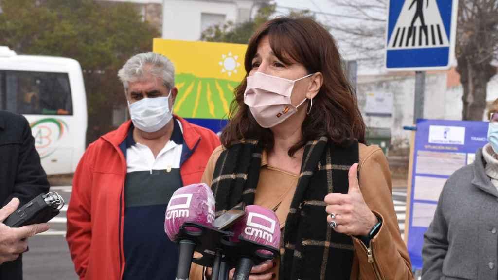Blanca Fernández, portavoz del Gobierno de Castilla La Mancha.