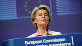 La presidenta Ursula von der Leyen.