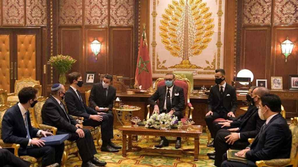 La relación de Marruecos con Israel y Estados Unidos se ha fortalecido.